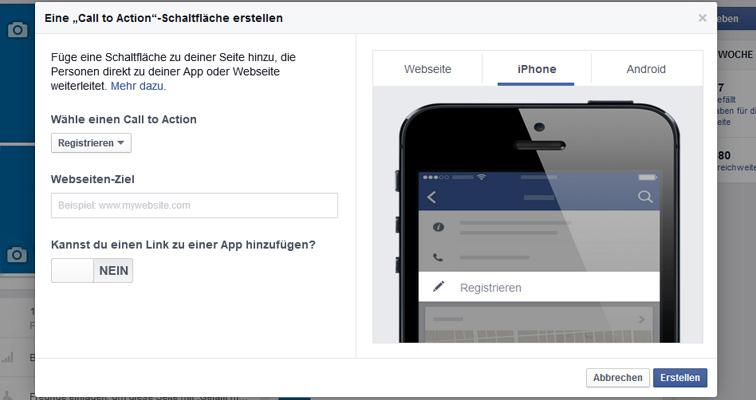 iOS-Link eingeben | Bild: Screenshot