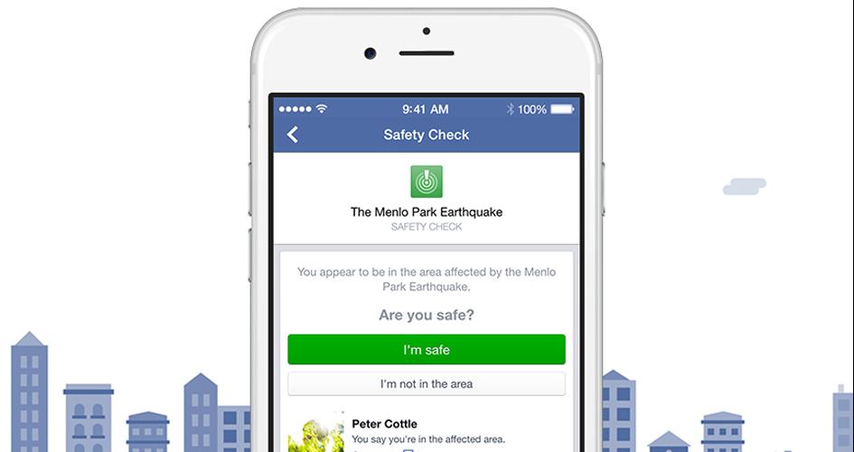 """Entwarnung: Die Meldung """"in Sicherheit"""" ließ viele Facebook-Nutzer aufatmen."""