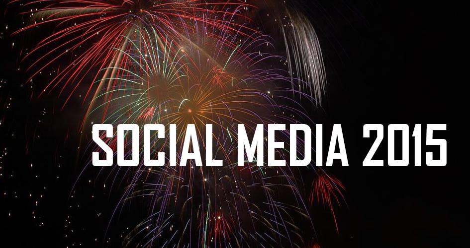 Werfen wir einen Blick auf 2015: Wie war das jahr auf Facebook und Co.?