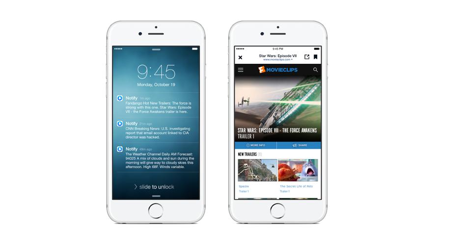 Die Nachrichten-App Notify ist Facebooks neuste Erfindung.