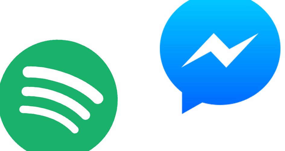 Der Facebook Messenger integriert nun Spotify