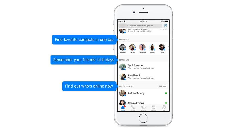 Facebook Messenger wartet mit neuen Funktionen auf.