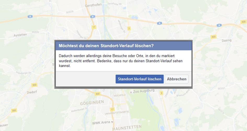 Facebook speichert den Aufenthaltsort seiner Nutzer in regelmäßigen Abständen.