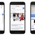 """Gerade testet Google in den USA das neue Anzeigenformat """"Shop the Look""""."""