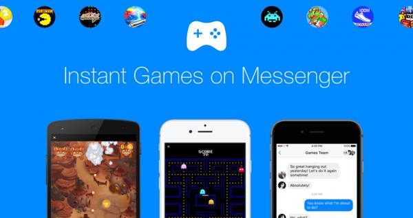 Mit der neuen Funktion könnt Ihr Eure Freunde im Facebook Messenger zu einer Runde Pac-Man herausfordern. Klingt nach Spaß! | Bild: Screenshot/Facebook Newsroom