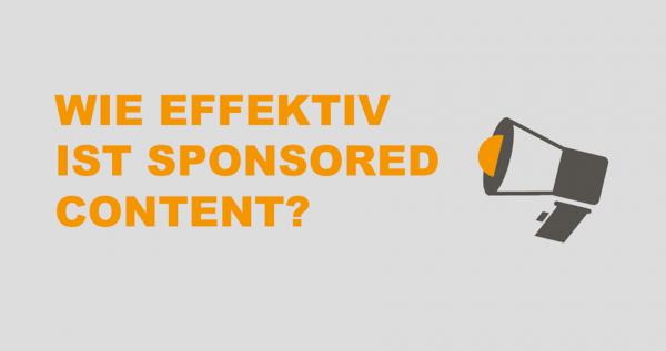 Wie gut funktioniert Sponsored Content auf Instagram?