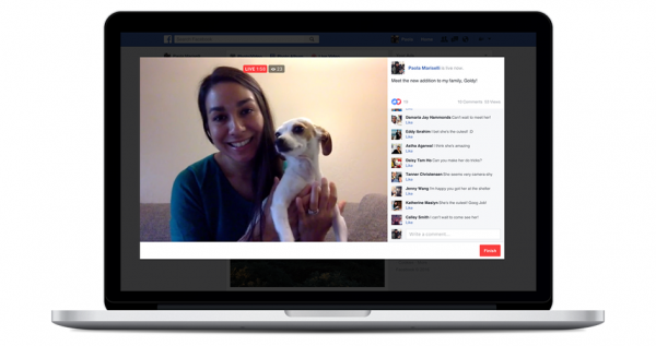 Facebook Live Videos via Desktop-PC