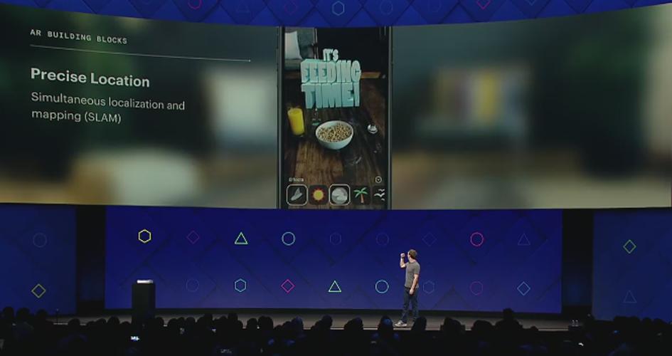 Auf der Facebook-Entwicklerkonferenz F8 2017 stellte Facebook neue Projekte, Technologien und Visionen vor