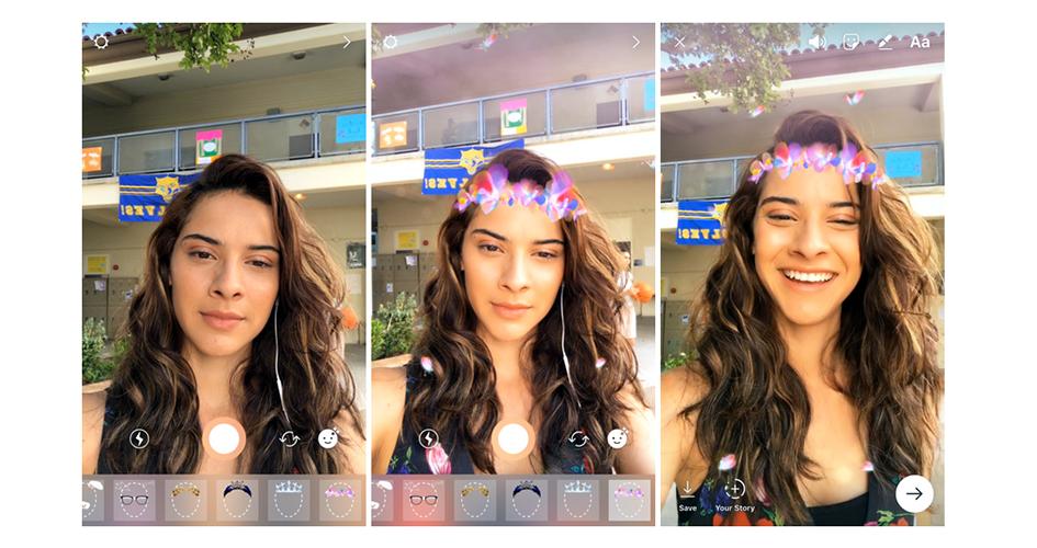 Instagram launcht Selfie-Filter